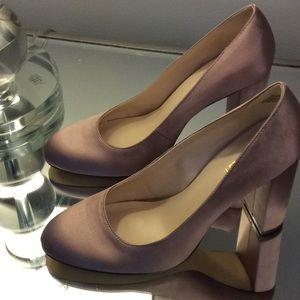 Nine West Satin Blush Shoes